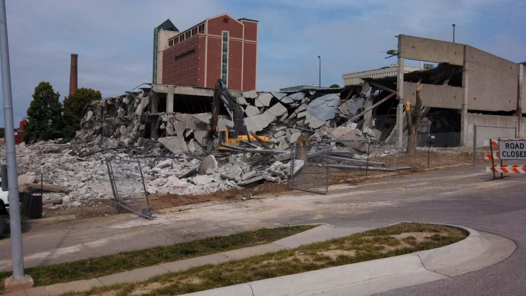 Parking Garage Demolition